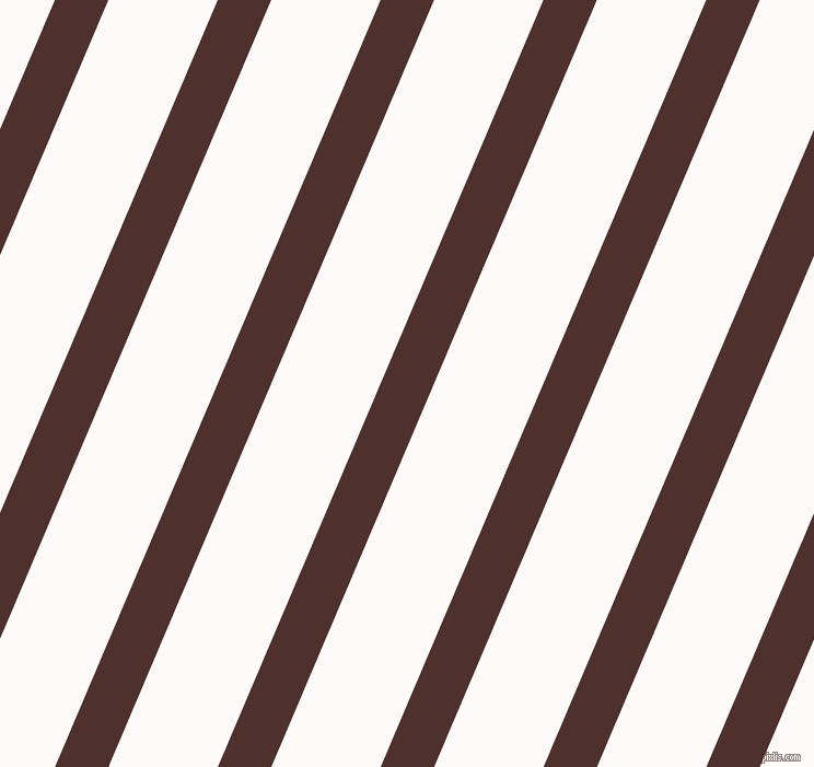 67 degree angle lines stripes, 45 pixel line width, 92 pixel line spacing, Espresso and Snow stripes and lines seamless tileable