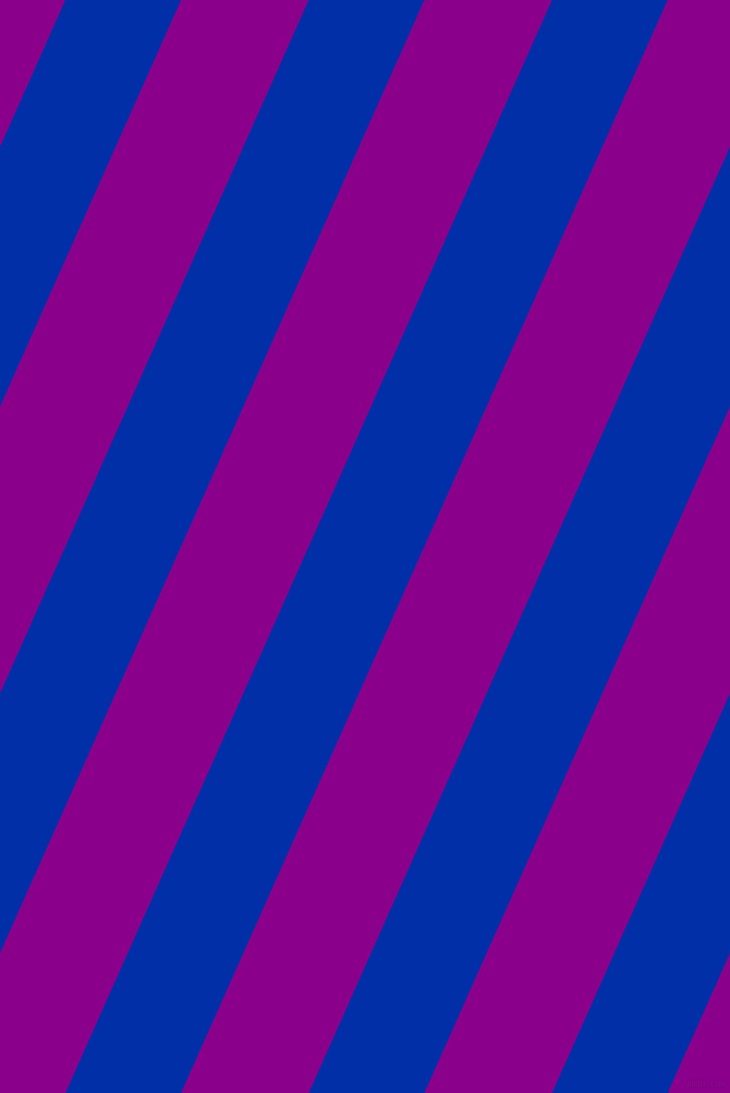 66 degree angle lines stripes, 97 pixel line width, 107 pixel line spacing, International Klein Blue and Dark Magenta stripes and lines seamless tileable