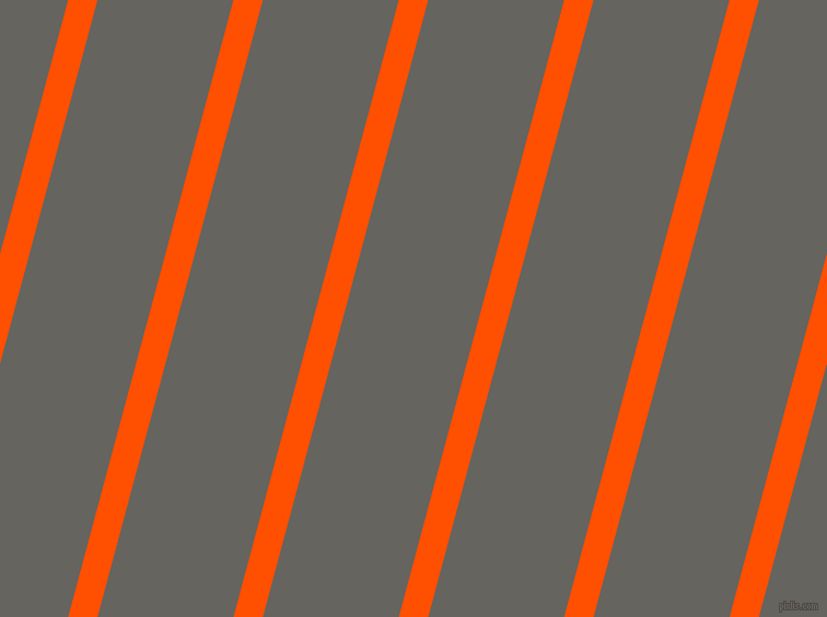 75 degree angle lines stripes, 26 pixel line width, 120 pixel line spacing, International Orange and Storm Dust stripes and lines seamless tileable