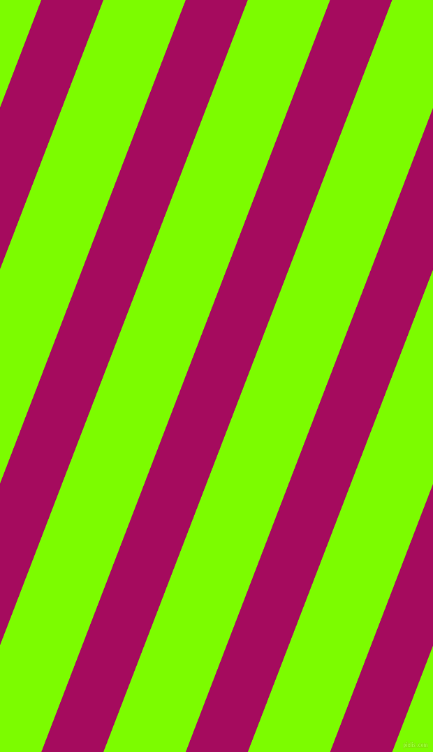 69 degree angle lines stripes, 83 pixel line width, 110 pixel line spacing, Jazzberry Jam and Lawn Green stripes and lines seamless tileable