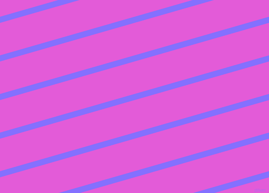 16 degree angle lines stripes, 19 pixel line width, 101 pixel line spacing, Light Slate Blue and Free Speech Magenta stripes and lines seamless tileable