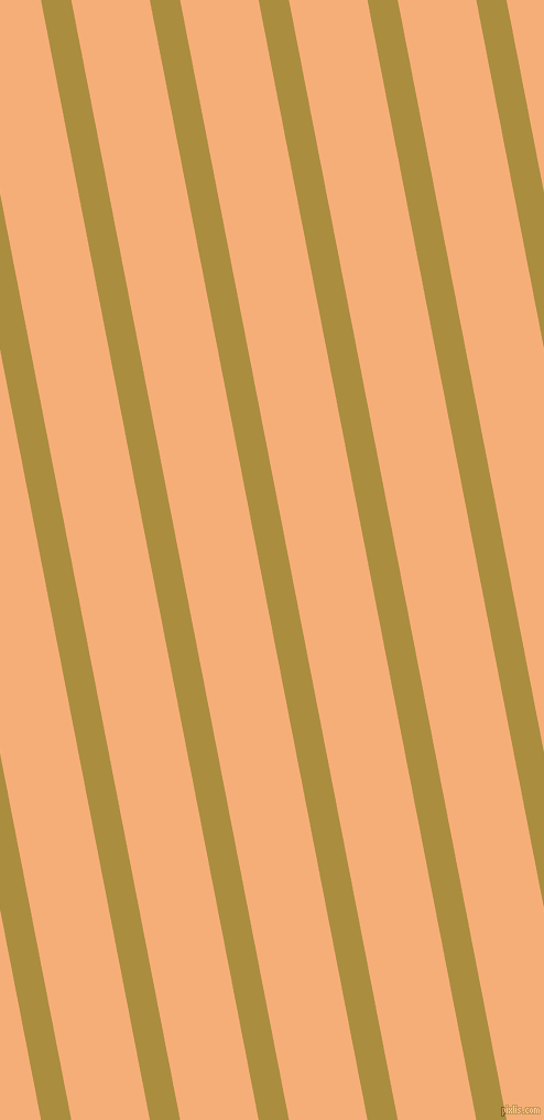 101 degree angle lines stripes, 27 pixel line width, 70 pixel line spacing, Luxor Gold and Tacao stripes and lines seamless tileable