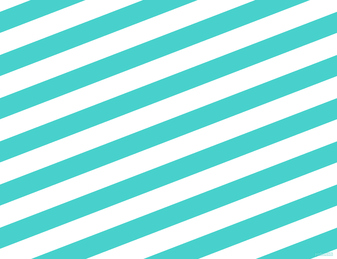 21 degree angle lines stripes, 39 pixel line width, 41 pixel line spacing, Medium Turquoise and White stripes and lines seamless tileable