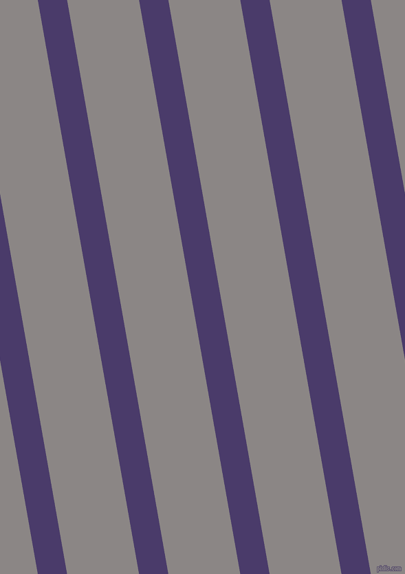 100 degree angle lines stripes, 42 pixel line width, 103 pixel line spacing, Meteorite and Suva Grey stripes and lines seamless tileable