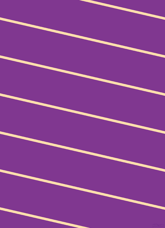 167 degree angle lines stripes, 8 pixel line width, 111 pixel line spacing, Navajo White and Vivid Violet stripes and lines seamless tileable