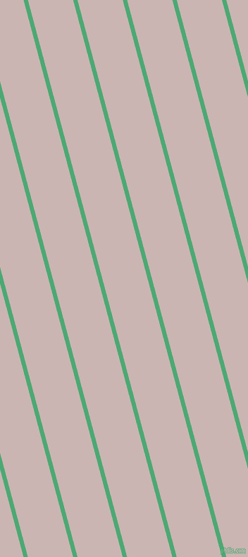 105 degree angle lines stripes, 6 pixel line width, 62 pixel line spacing, Ocean Green and Cold Turkey stripes and lines seamless tileable