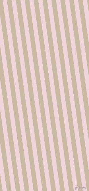 98 degree angle lines stripes, 15 pixel line width, 16 pixel line spacing, Pale Rose and Grain Brown stripes and lines seamless tileable