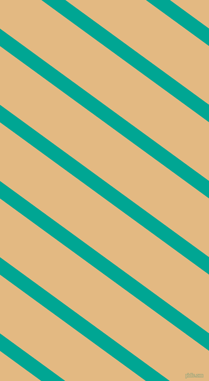 144 degree angle lines stripes, 28 pixel line width, 94 pixel line spacing, Persian Green and Maize stripes and lines seamless tileable