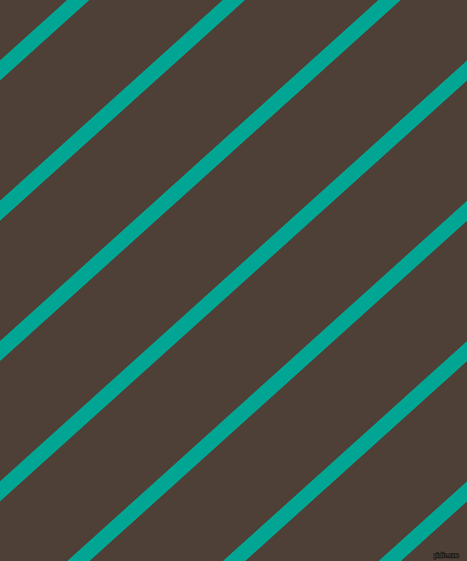 42 degree angle lines stripes, 21 pixel line width, 126 pixel line spacing, Persian Green and Paco stripes and lines seamless tileable