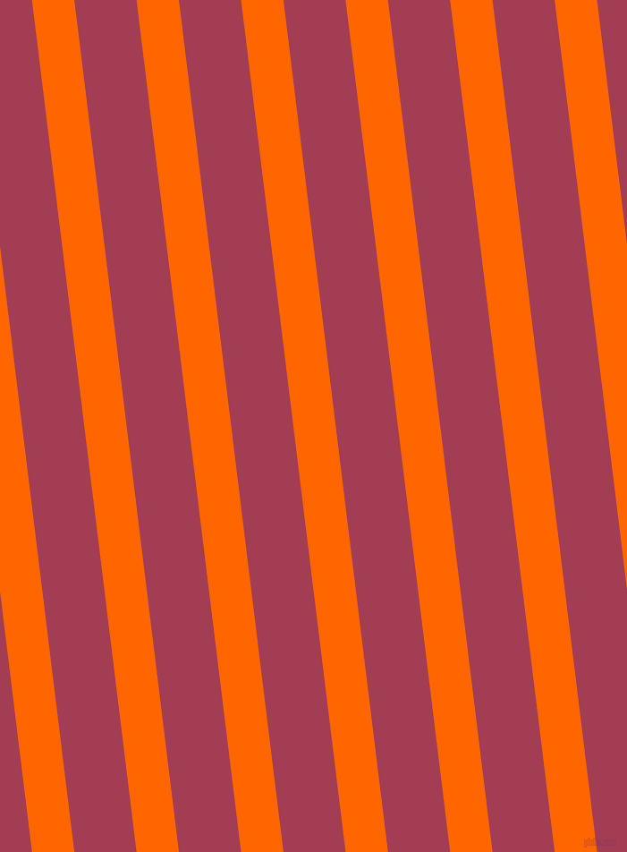97 degree angle lines stripes, 47 pixel line width, 69 pixel line spacing, Safety Orange and Night Shadz stripes and lines seamless tileable