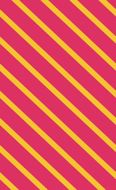 137 degree angle lines stripes, 22 pixel line width, 60 pixel line spacing, Saffron and Cerise stripes and lines seamless tileable