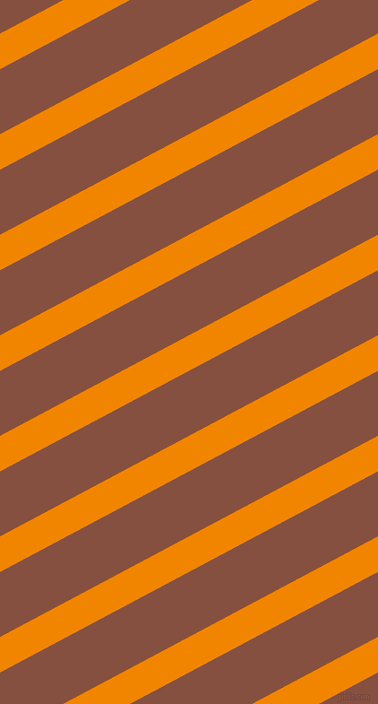 28 degree angle lines stripes, 35 pixel line width, 64 pixel line spacing, Tangerine and Ironstone stripes and lines seamless tileable