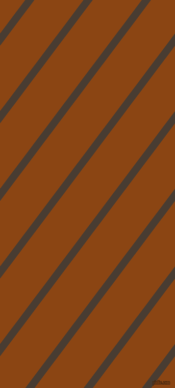 53 degree angle lines stripes, 15 pixel line width, 80 pixel line spacing, Taupe and Saddle Brown stripes and lines seamless tileable