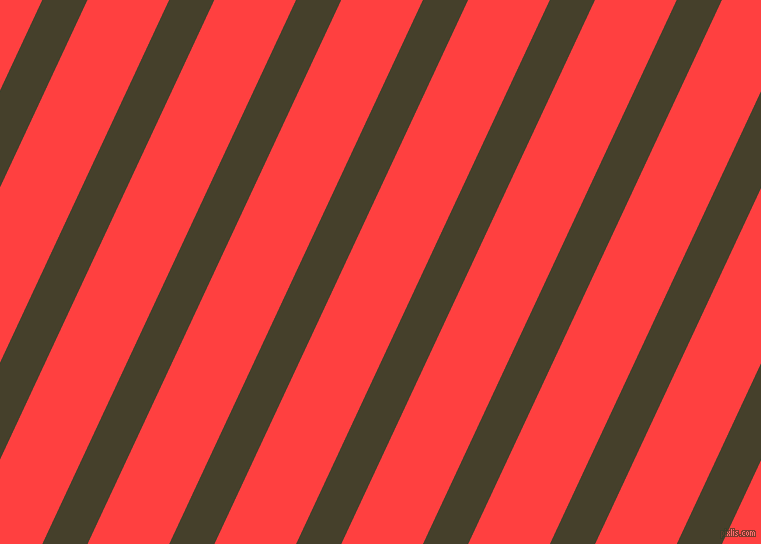 65 degree angle lines stripes, 41 pixel line width, 74 pixel line spacing, Woodrush and Coral Red stripes and lines seamless tileable
