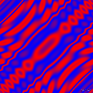 , Blue and Red wavy plasma ripple seamless tileable