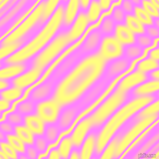 Fuchsia Pink and Witch Haze wavy plasma ripple seamless tileable