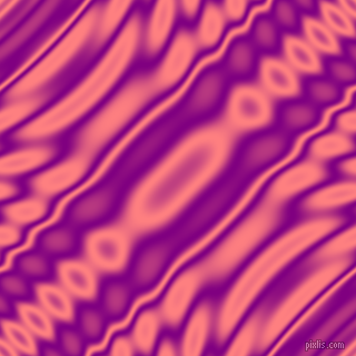 Purple and Salmon wavy plasma ripple seamless tileable