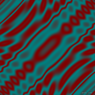 , Teal and Maroon wavy plasma ripple seamless tileable