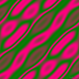 , Green and Deep Pink wavy plasma seamless tileable